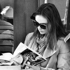 gente leyendo